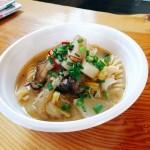 丁字屋 日替わりの温かい野菜たっぷりスープ、ショートパスタ入り 500円